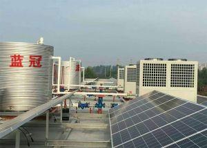 深圳幸福之家養老院太陽能熱水工程_空氣能熱水機安裝