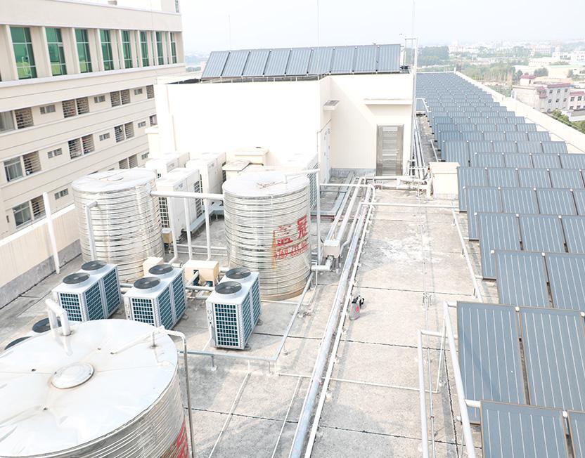 东莞企石医院太阳能万博手机版工程